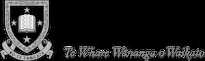 University of Waikato schwarz weiß logo