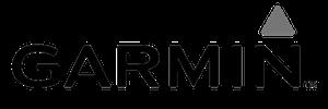 Garmin Logo schwarz weiss