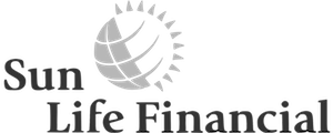 sun life financial logo(b&w)